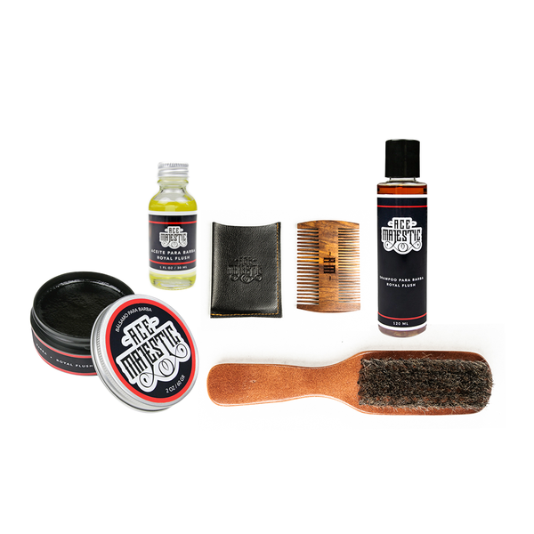 Kit 'Barba Perfecta' - Ace Majestic