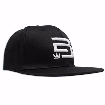 Gorra 'EB' abstract Negra- Emperador Barbudo