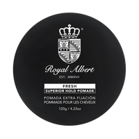 Pomade Extra Fijación Fresh 120gr -Royal Albert