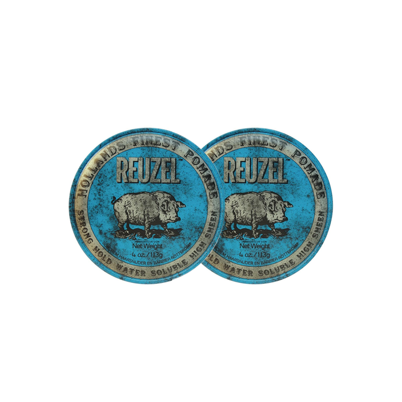 2x - Blue Pomade 'Strong Hold' - Reuzel