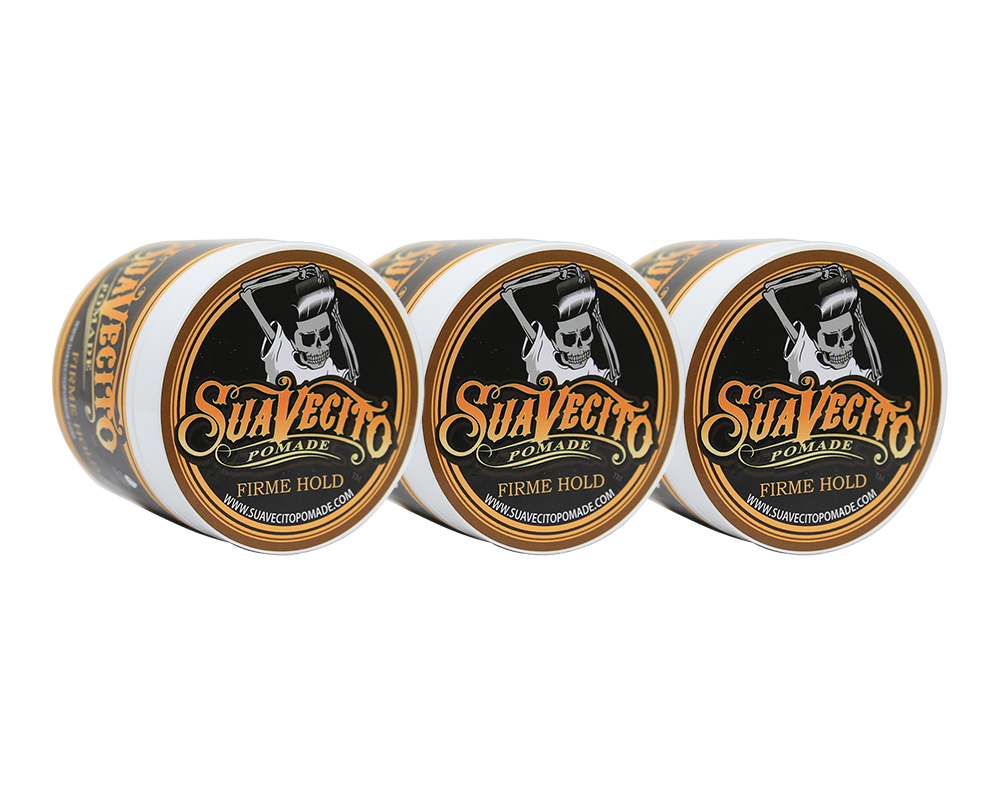 Kit 3x - Suavecito Pomade Super Hold - 4oz
