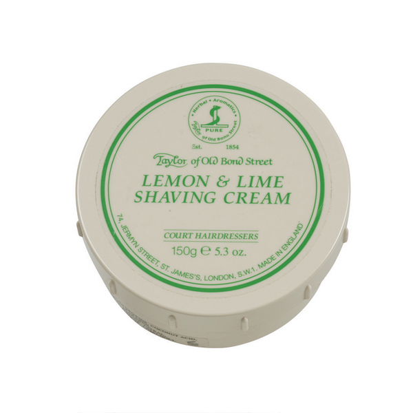 Lemon & Lime - Taylor Shaving Cream 150 gr