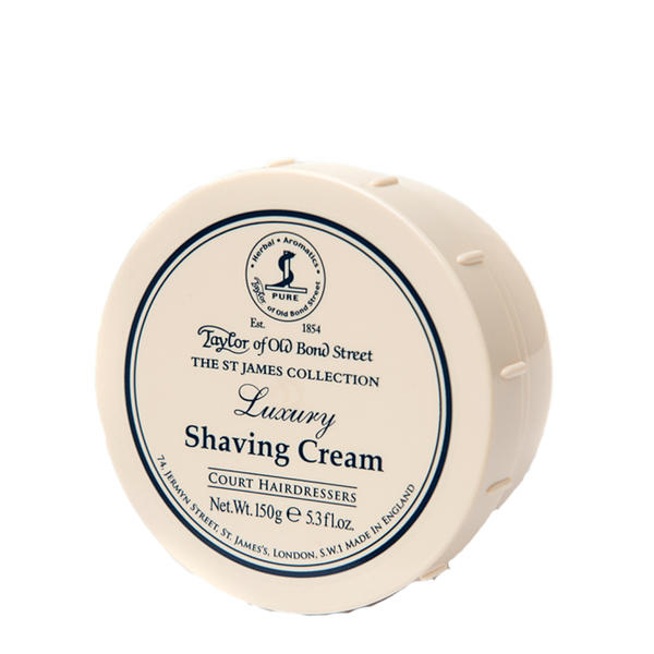 The St James Collection Luxury - Taylor Shaving Cream 150 gr