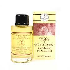 Sandalwood Pre Shave Oil - Taylor 30 ml