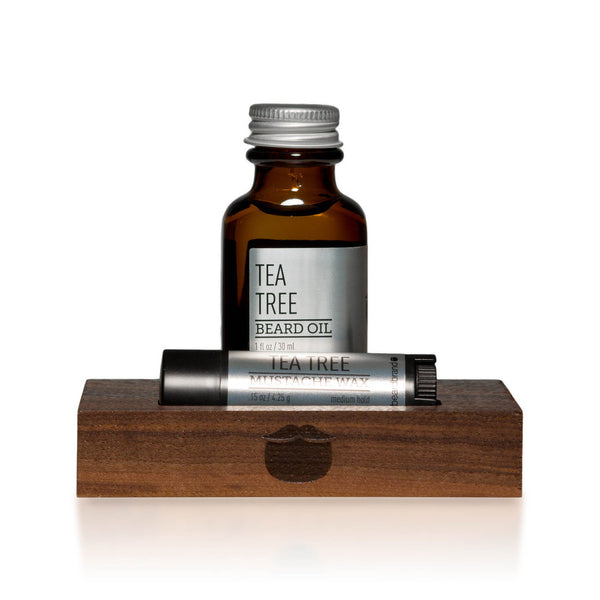 Kit Minimalista Tea Tree de BeardBrand