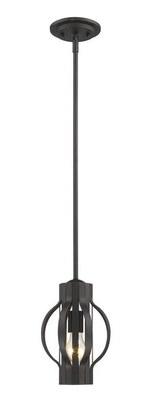 "Z-Lite Moundou luminaire suspendu 7"" bronze  436-MP-BRZ"