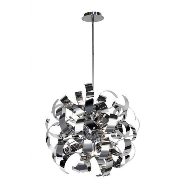 "Artcraft Bel Air luminaire suspendu 18"" chrome AC600CH"
