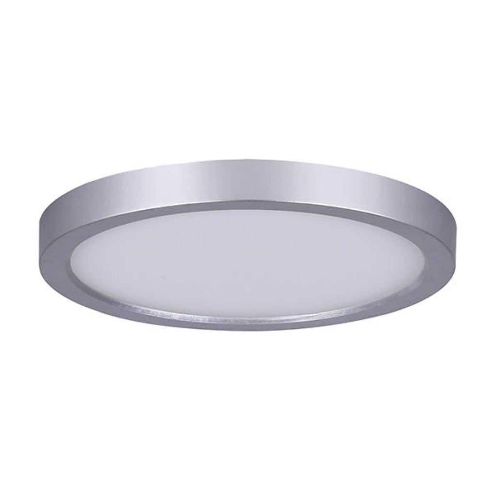 Canarm Plafonnier Mince 11 DEL Nickel Bross LED SM11DL BN C