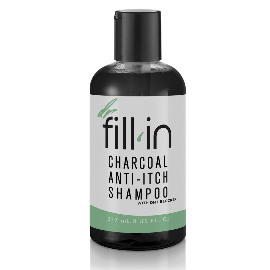 Men's Charcoal Anti-Itch Shampoo