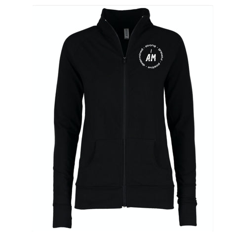 """I AM ..."" Circle Ladies Spirit Jacket"