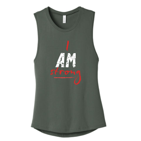 """I AM ..."" Women's Muscle Tank"