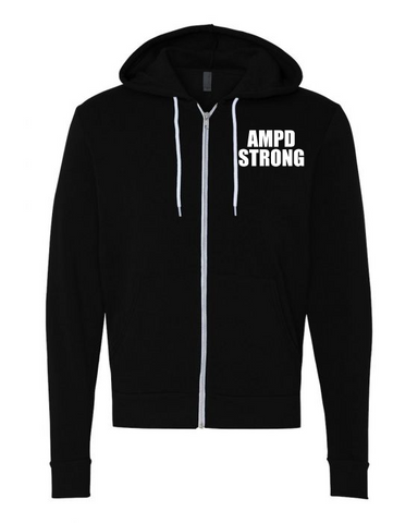 AMPD Strong Full Zip Fleece Hoodie