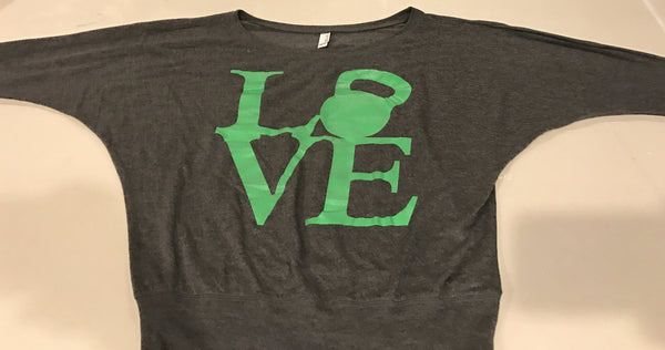 Kettlebell LOVE Long Sleeve Shirt