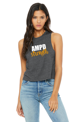 AMPD Strength Racerback Cropped Tank (Women's)