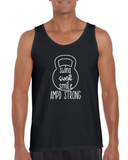 """Swing Sweat Smile"" Unisex Tank Top"