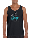 """Go With The Flow"" Unisex Tank Top"