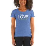 """Love Kettlebell AMPD"" - Ladies' short sleeve tee"