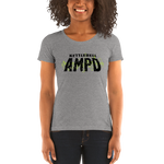 Ladies' short sleeve t-shirt - Kettlebell AMPD