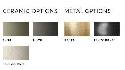 MARZ DESIGN TERRA FINISH OPTIONS