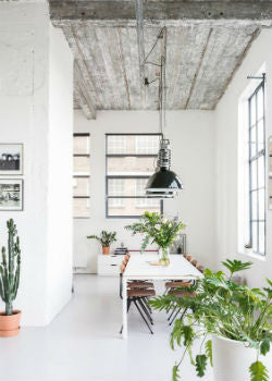 Industrial Dining Room Pendant Lighting | Lighting Collective