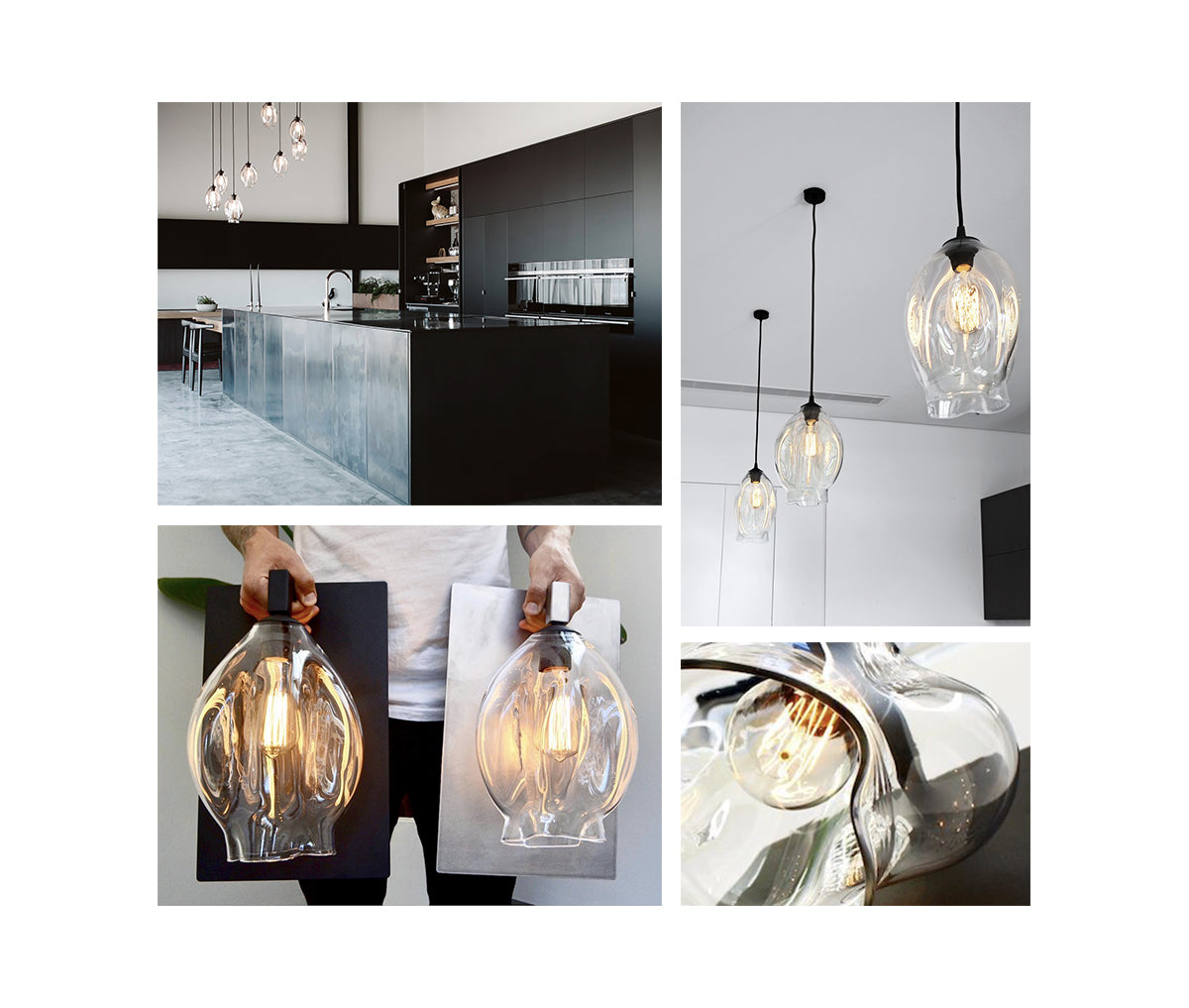 Organic Glass Lights | Lighting Collective