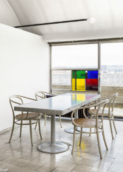 Original Charlotte Perriand Wall Light in Le Corbusier's Paris Apartment | Lighting Collective