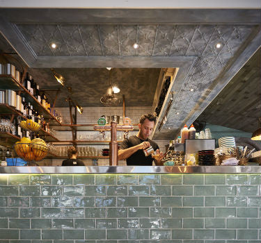 Byron Fresh Cafe Kitchen | Adjustable Wall/Ceiling Lights | Lighting Collective