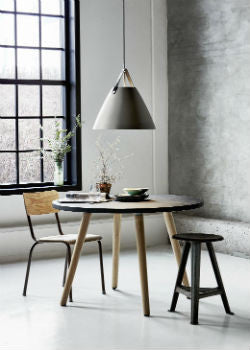 Scandinavian Pendant Light Over Dining Table | Lighting Collective