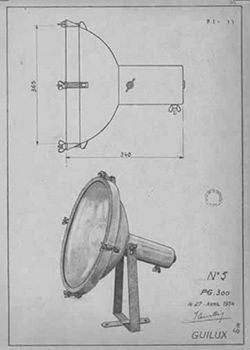 Le Corbusier Wall Lamp Sketch | Lighting Collective