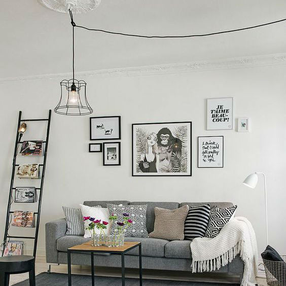 Scandinavian Floor Lamp Living Room