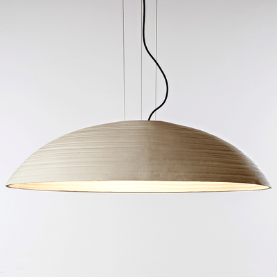 Italian Ceramic Cream Pendant Light | Lighting Collective