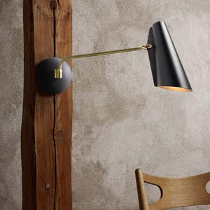 Mid Century Style Swing Arm-Wall Lights-NORTHERN LIGHTING (Lightco)-Lighting Collective