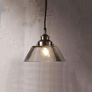 Classic Vintage Style Glass Pendant Light-Pendants-Emac & Lawton-Lighting Collective