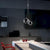 Italian Tri-Bubble Pendant Light