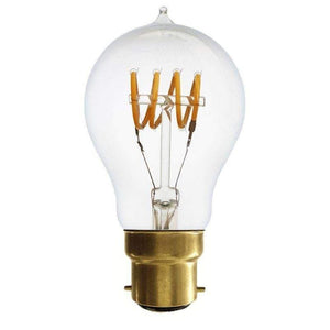 4W Vintage Quad Loop Filament Light Bulb (B22)