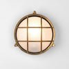 Caged Coastal Wall Light | Assorted Finish Brass