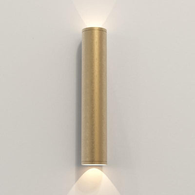 Coastal  Style Tubular Wall Light | Assorted Finish Brass