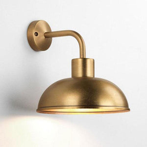 Exterior Oasis Wall Light | Antique Brass-Wall Lights-Astro Lighting-Lighting Collective