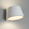 Vertical Plaster Wall Light