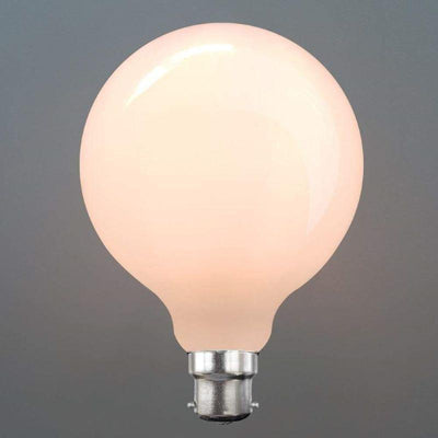 8W G95 Opal Dimmable LED Globe (B22)