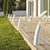 Curved Modern Bollard Made in France | Various Colours