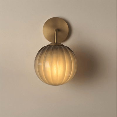 Glass Vintage Sphere | Assorted Finishbronze
