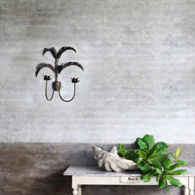 Iron Palm Spring Wall Light | Lighting Collective