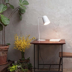 Modern Desk Lamp Black & Copper-Lamps-Seed Design (Studio Italia)-Lighting Collective