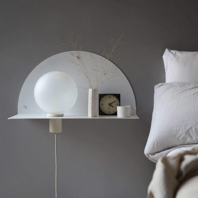Left Arch Shelf Wall Light | Lune | Lighting Collective