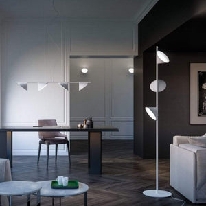 Blossom Aluminium Floor Lamp | White | Lighting Collective
