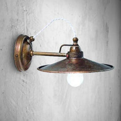 Brass or Iron Wall Light