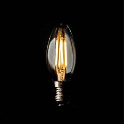 Candle LED Filament Light Bulb Clear Glass-Accessories-Vintage LED Globe-Lighting Collective