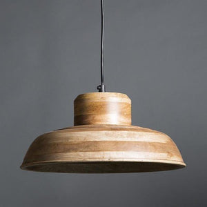 Circa Style Timber Pendant-Pendants-Emac & Lawton-Lighting Collective