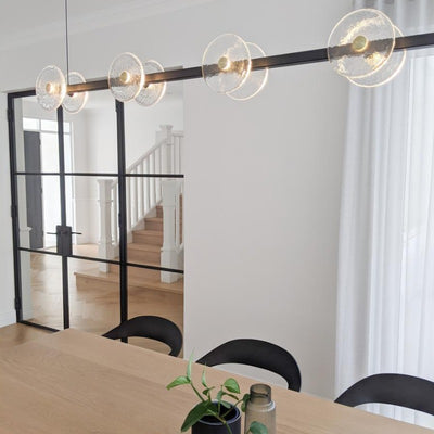 Large Coral Linear Rod Pendant | Lighting Collective